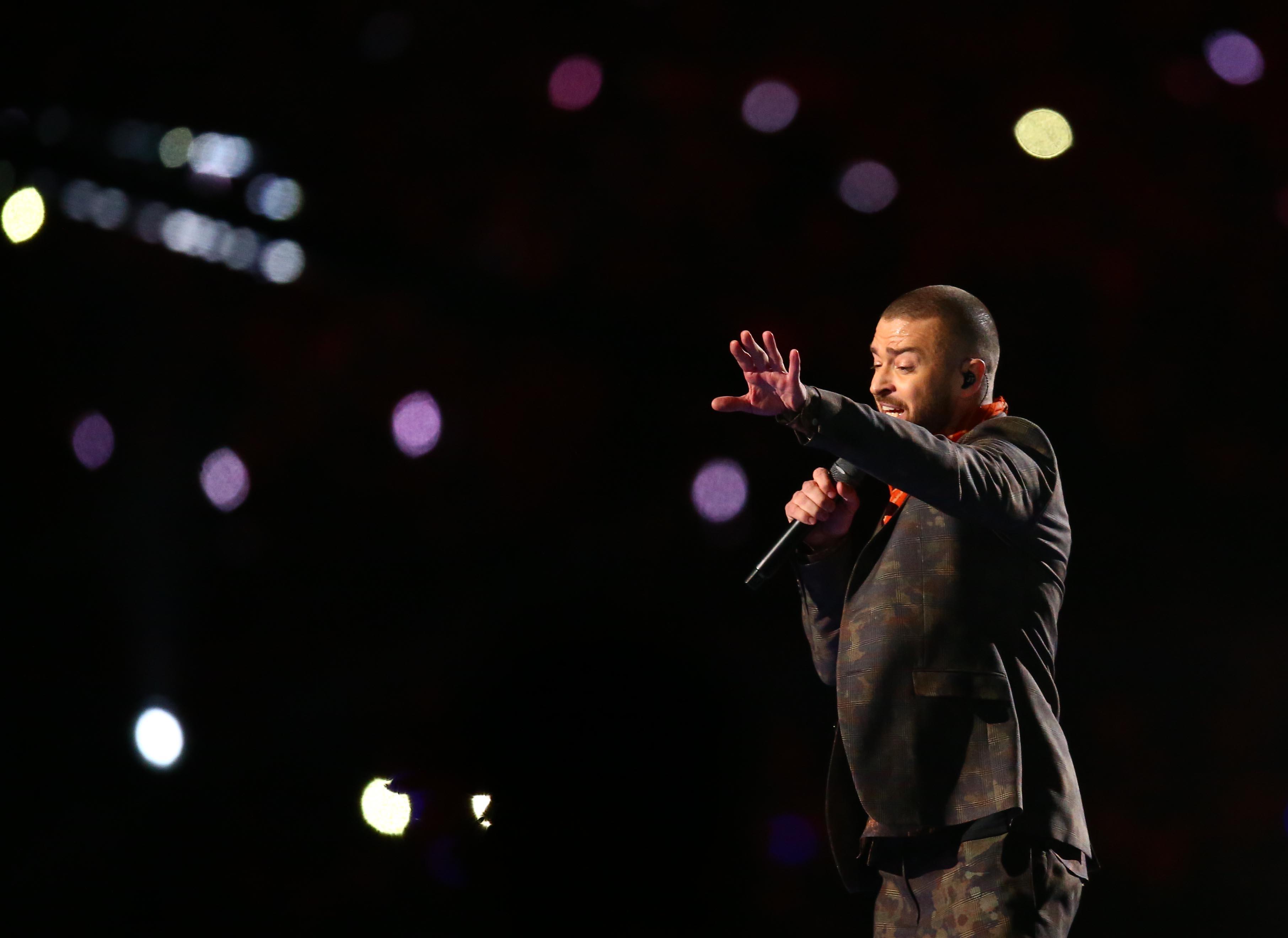 Justin Timberlake Super Bowl 52 Halftime Show   Sporting