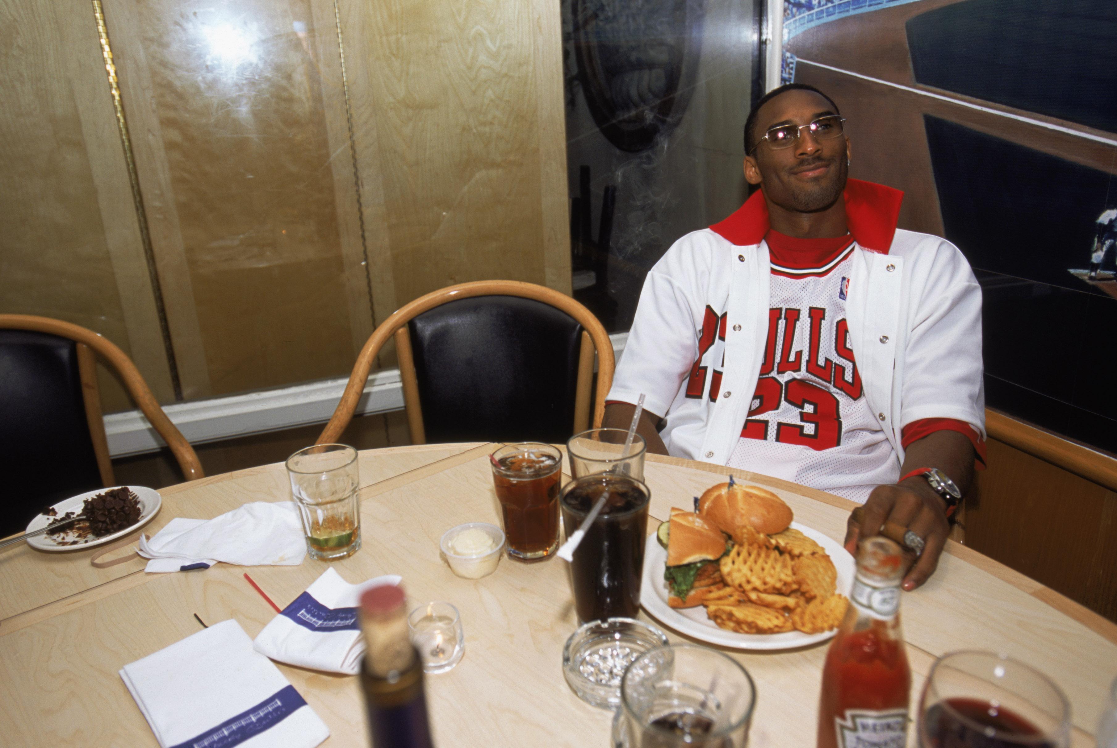 Remember when Kobe Bryant wore a Michael Jordan jersey to NBA Finals?