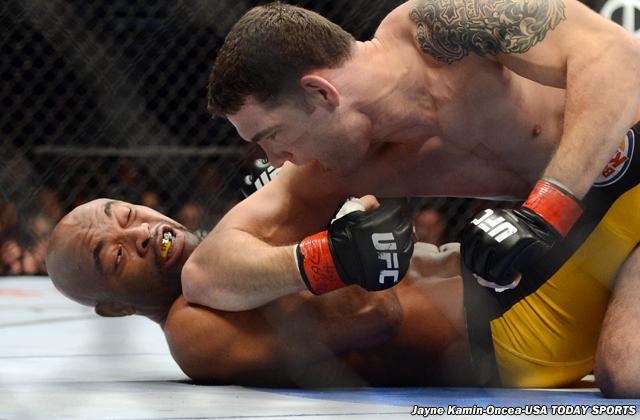 MMA: UFC 168-Weidman vs Silva