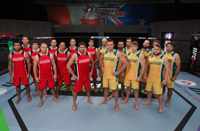 TUF Nations: Team Canada v Team Australia Media Day Portraits