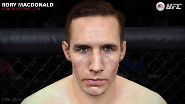 Rory MacDonald EA UFC