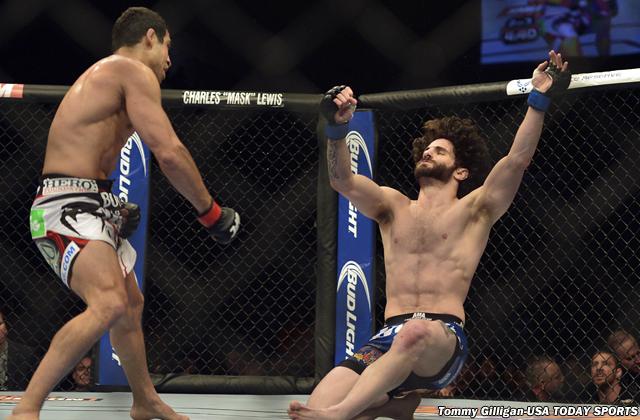 MMA: UFC 172- Castillo vs Brenneman
