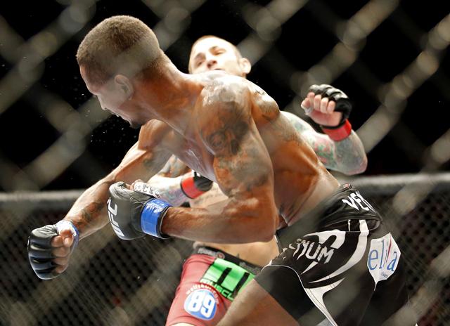 MMA: UFC Fight Night 40-Wineland vs Eduardo