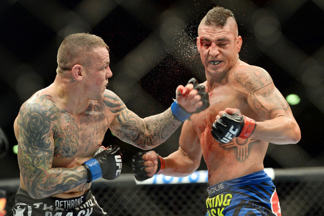 Ross Pearson and Diego Sanchez
