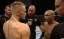 UFC Fight Night Dublin on 3e In picture: Conor McGregor and Diego Brandao