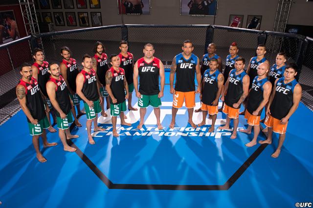 The Ultimate Fighter Latin America - Team Velasquez vs Team Werdum