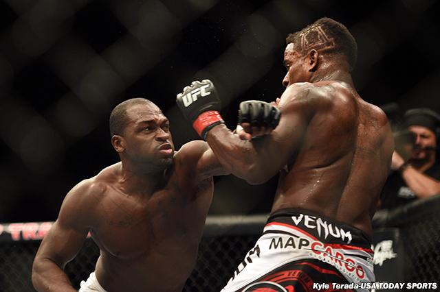 MMA: UFC 177-Larkin vs Brunson