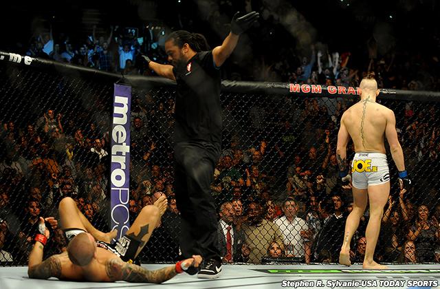MMA: UFC 178-McGregor vs Poirier