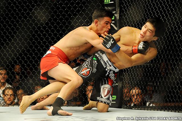 MMA: UFC 178-Cruz vs Mizugaki
