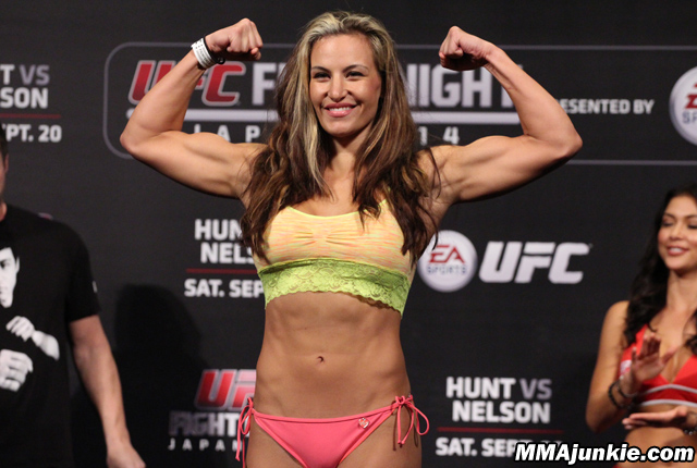 UFC 183's Miesha Tate: I'm going to show Sara McMann what it means ...