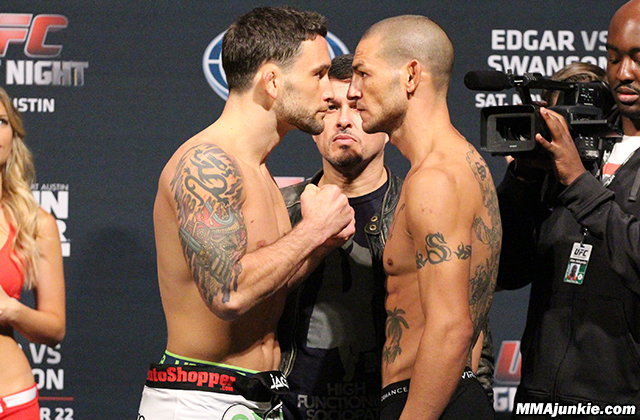 Frankie Edgar and Cub Swanson