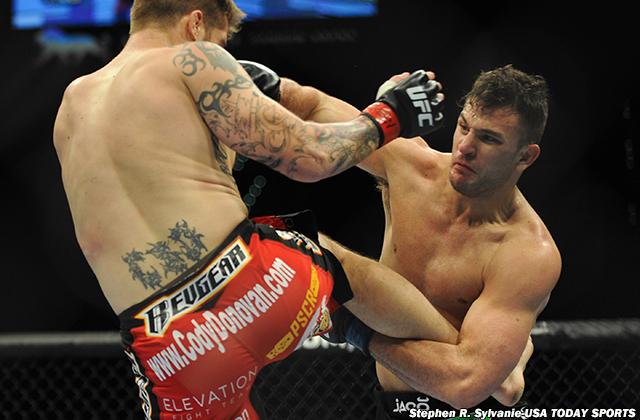 MMA: UFC 167-Donovan vs Villante