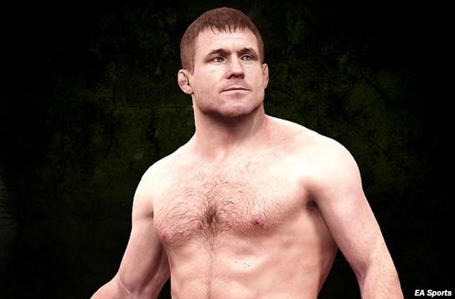 "Matt Hughes in ""EA Sports UFC"""