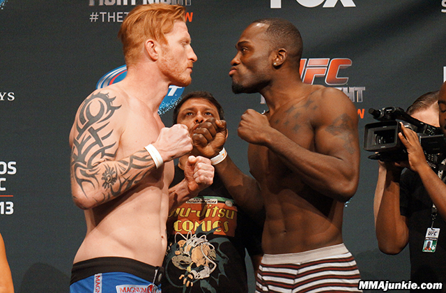 Ed Herman and Derek Brunson