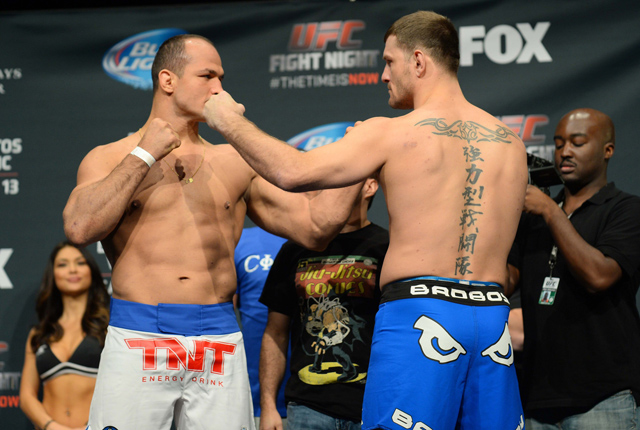 Junior Dos Santos and Stipe Miocic