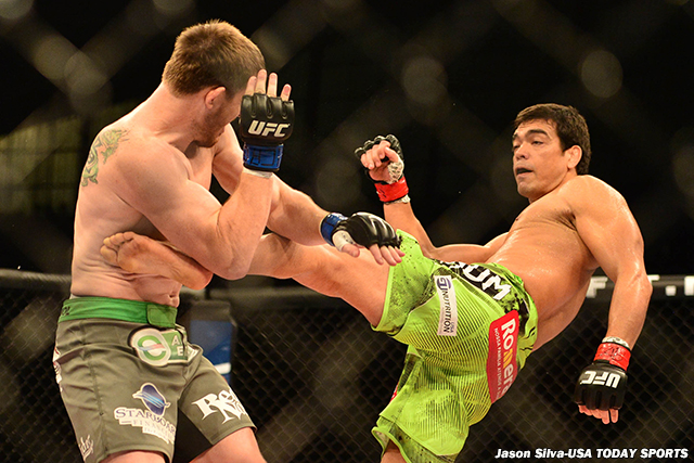 C.B. Dollaway and Lyoto Machida