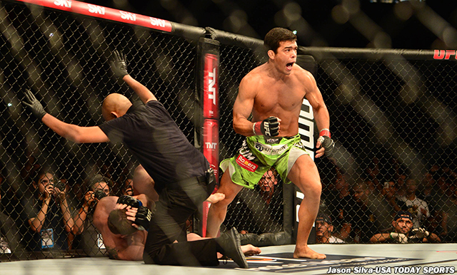 MMA: UFC Fight Night-Machida vs Dollaway