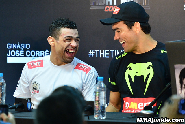 Renan Barao and Lyoto Machida