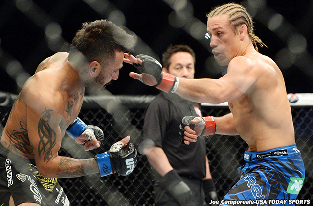 Francisco Rivera and Urijah Faber