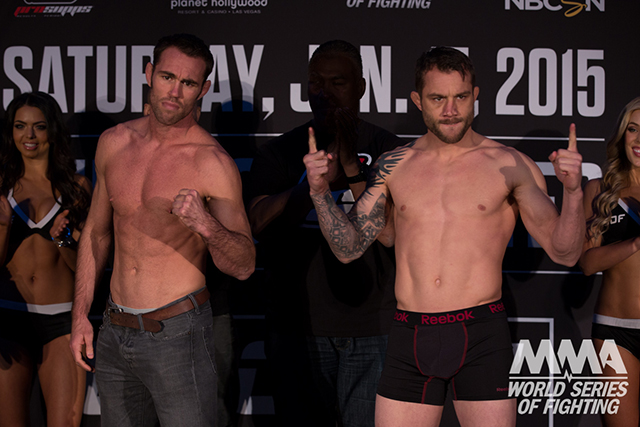 Jake Shields and Brian Foster