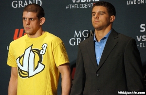 Joe Lauzon and Al Iaquinta