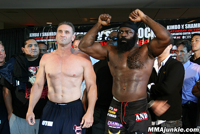 "Ken Skamrock and Kevin ""Kimbo Slice"" Ferguson"