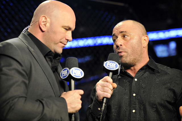 Dana White and Joe Rogan