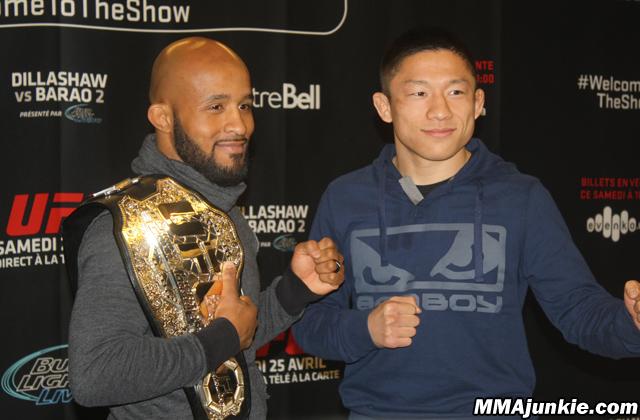 Demetrious Johnson and Kyoji Horiguchi