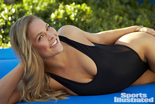 Ronda Rousey (Walter Iooss Jr./Sports Illustrated)