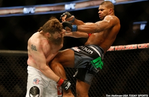 Roy Nelson and Alistair Overeem