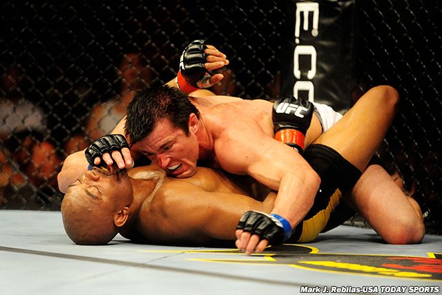 Anderson Silva and Chael Sonnen, UFC 117