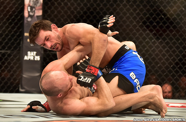 Demian Maia and Ryan LaFlare