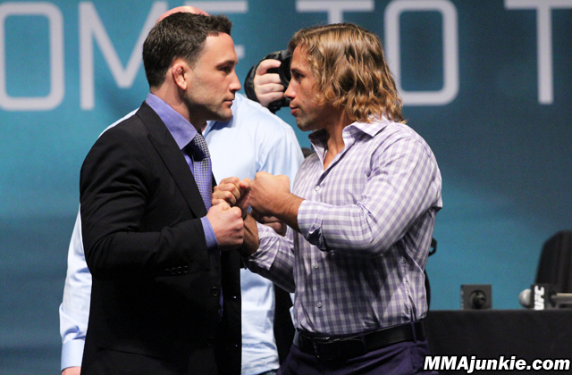Frankie Edgar and Urijah Faber