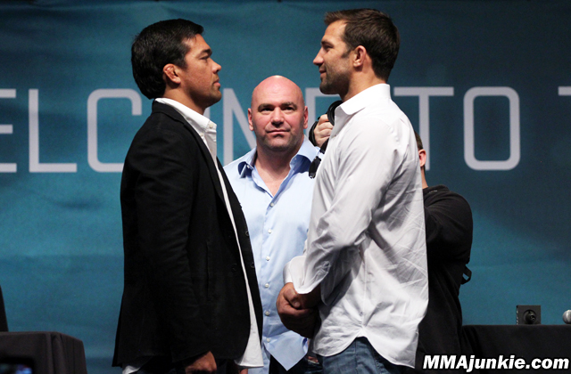 Lyoto Machida and Luke Rockhold