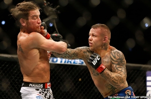Sam Stout and Ross Pearson