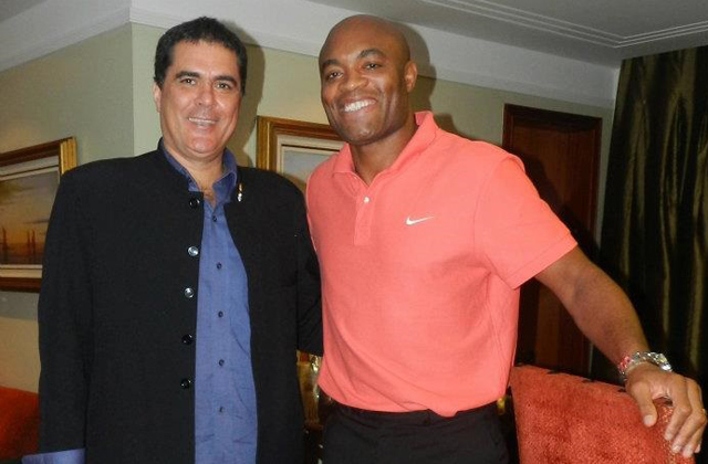 Carlos Fernandes and Anderson Silva