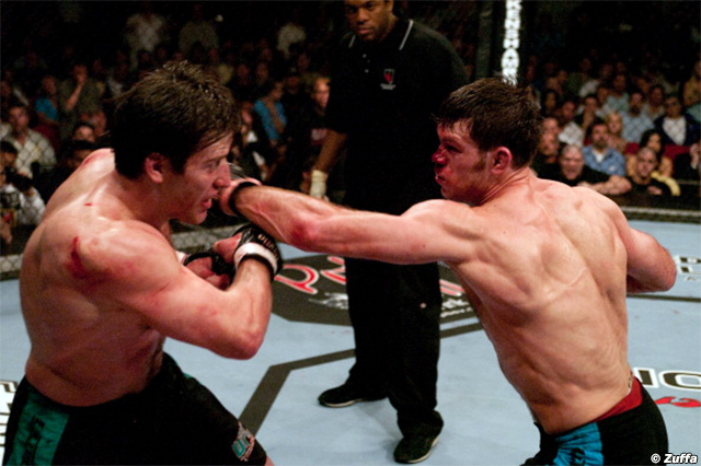 Stephan Bonnar and Forrest Griffin
