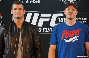 Michael Bisping and C.B. Dollaway