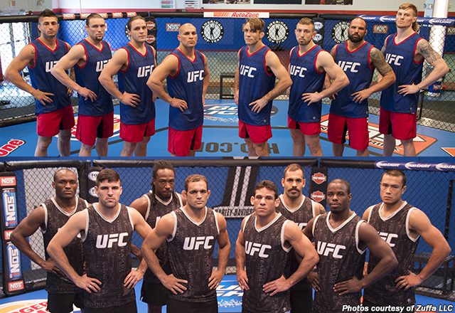 American Top Team (top) and the Blackzilians