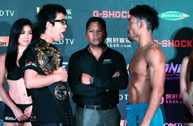 Shinya Aoki and Koji Ando