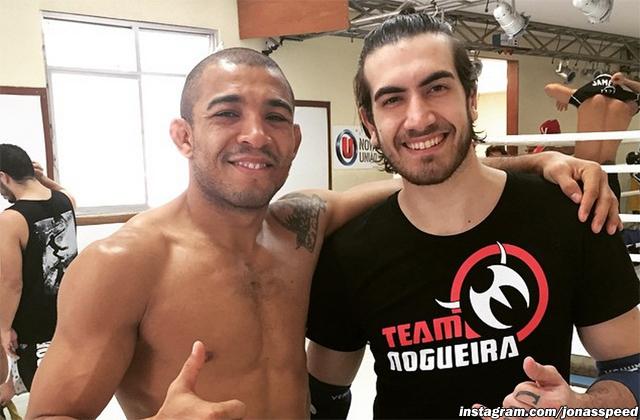 Jose Aldo and Jonas Bilharinho