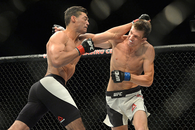 Alan Jouban and Matt Dwyer