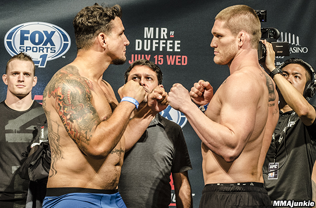Frank Mir and Todd Duffee