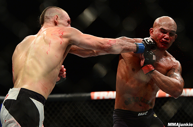 Rory MacDonald and Robbie Lawler, UFC 189