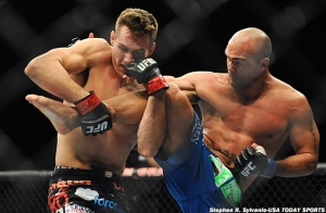 Rory MacDonald and Robbie Lawler, UFC 167