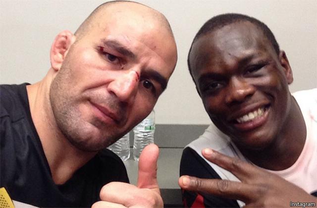 Glover Teixeira and Ovince Saint Preux