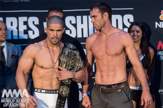 Rousimar Palhares and Jake Shields