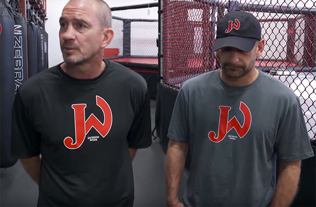 Mike Winkeljohn and Greg Jackson