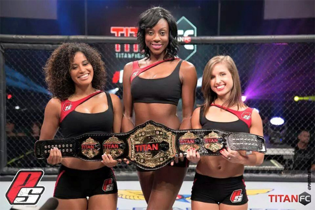 Titan FC ring girls