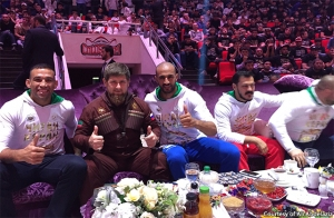 Fabricio Werdum and Ramzan Kadyrov